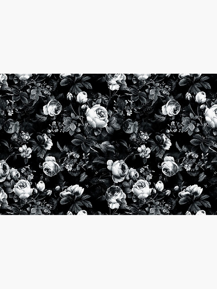 Roses Black and White by rizapeker