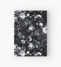 Cuaderno de tapa dura Rosas en blanco y negro