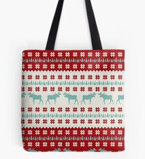 """A Moose for Christmas"" Tote Bag"