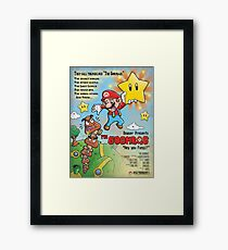 The Goombas (blue version) Framed Print