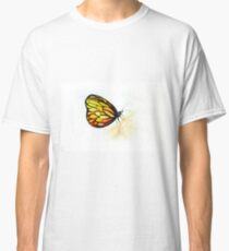 Colorful watercolor of butterfly  Classic T-Shirt