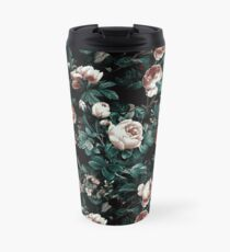 Roses Green Travel Mug