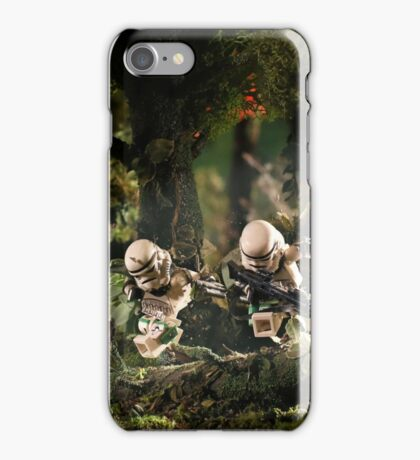 Behind enemy lines iPhone Case/Skin