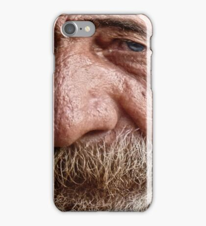 Peter - the weathered sailor... iPhone Case/Skin