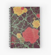 Stop & Smell the Roses Spiral Notebook