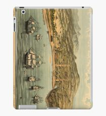 Vintage Pictorial Map of San Francisco (1884)  iPad Case/Skin