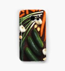 Healthy Vegetables Samsung Galaxy Case/Skin