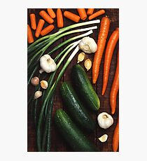 Healthy Vegetables Photographic Print