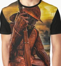 Seaham Tommy - Tired of War Graphic T-Shirt
