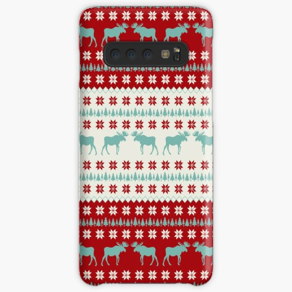 """A Moose for Christmas"" Samsung Galaxy Snap Case"