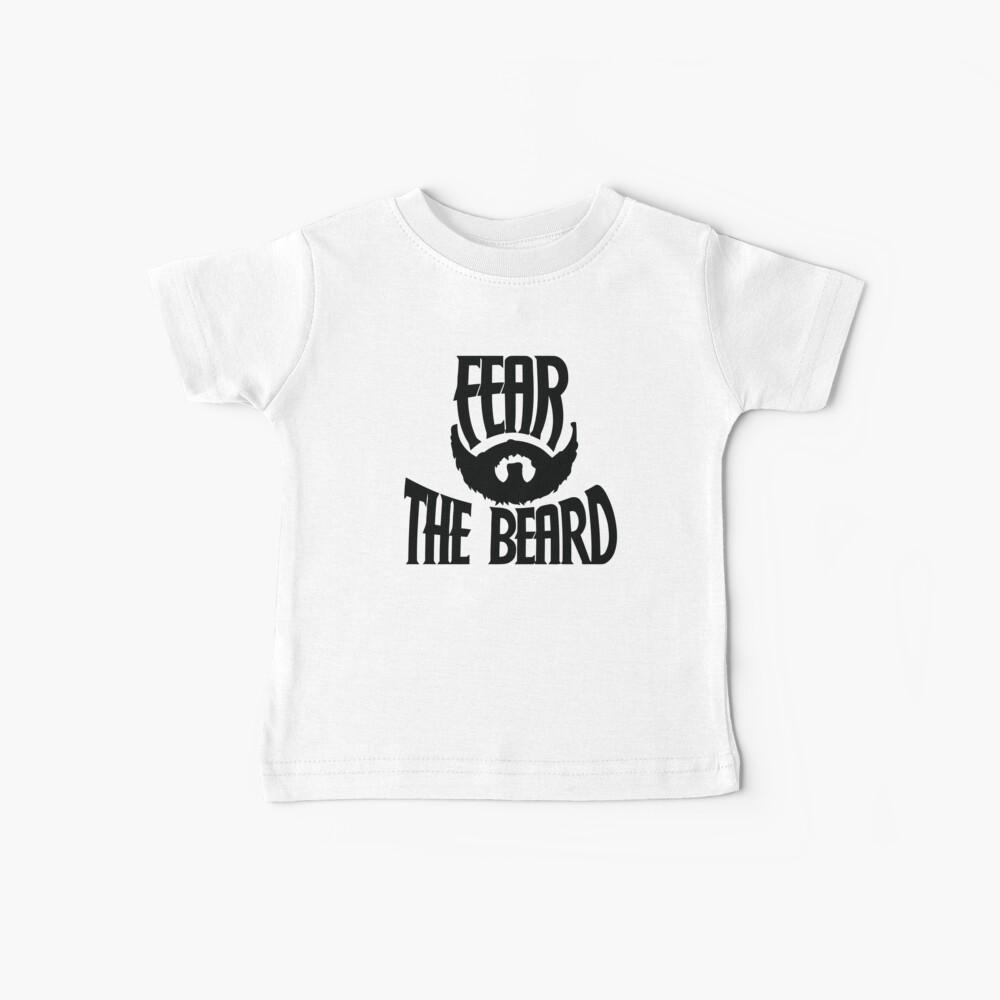 Temer la barba Camiseta para bebés