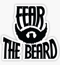 Fear the beard Sticker