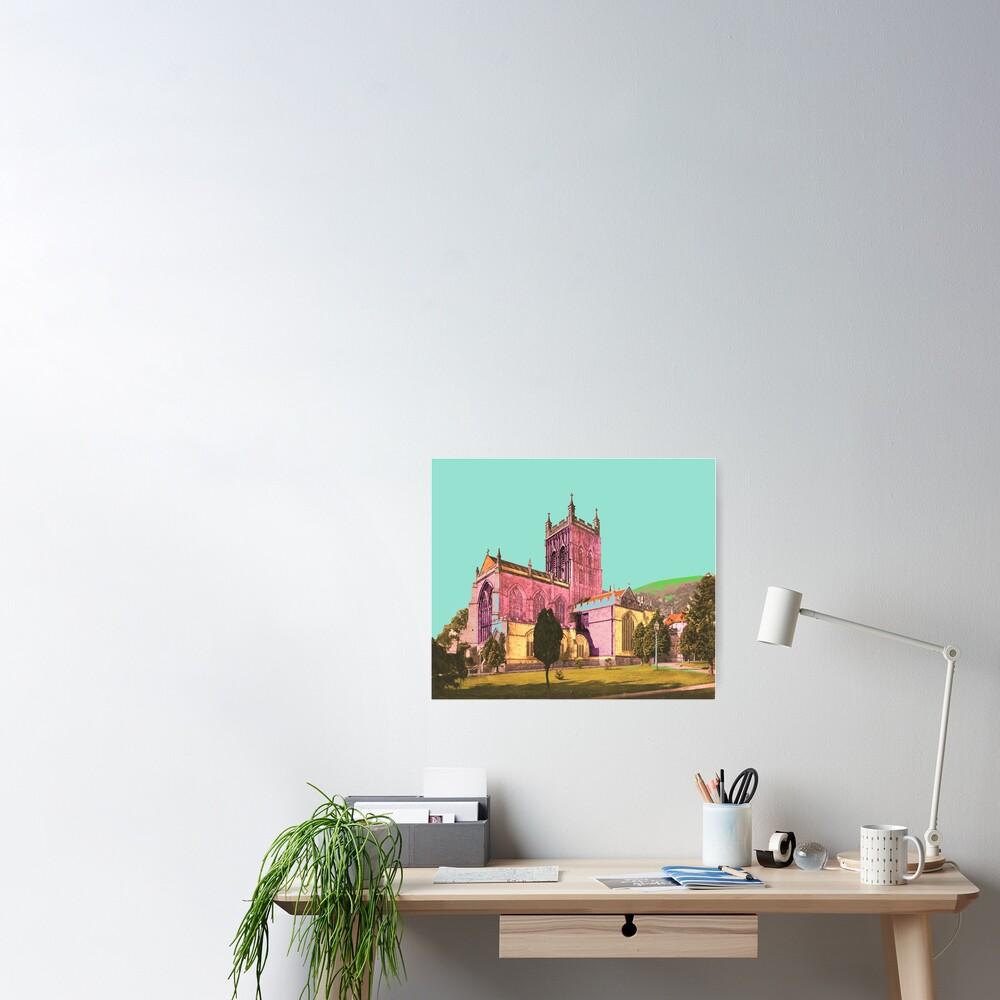 Great Malvern Priory England Poster