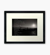 O! Holy Night Framed Print