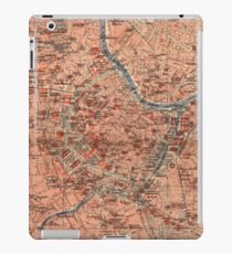 Vintage Map of Vienna Austria (1920) iPad Case/Skin