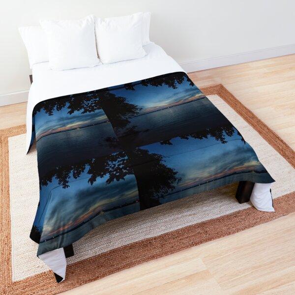 Night View Landscape Comforter