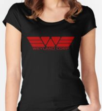 Weyland Corp Women's Fitted Scoop T-Shirt