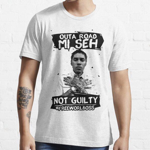 Out A Road #FREEWORLBOSS SCHWARZ Essential T-Shirt