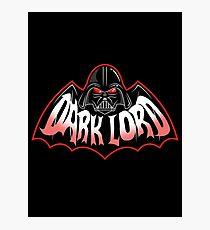 Dark Lord Photographic Print