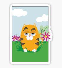 Cat Fart Sticker
