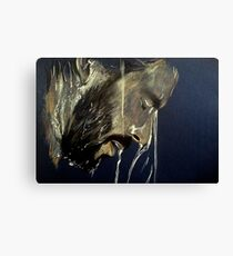 flowing, featured in Art Universe Canvas Print