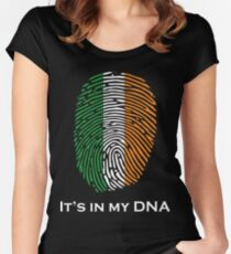 I'm Irish, It's in my DNA! Women's Fitted Scoop T-Shirt