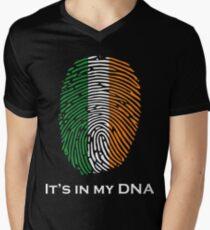 I'm Irish, It's in my DNA! Men's V-Neck T-Shirt