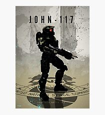 Heroes of Gaming - John 117 Photographic Print