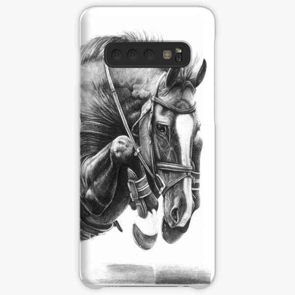 Catching Air - Showjumping Horse Samsung Galaxy Snap Case