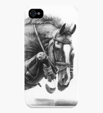 Catching Air - Showjumping Horse iPhone 4s/4 Case
