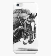 Catching Air - Showjumping Horse iPhone 6s Case