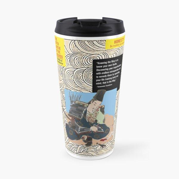The Fifth Virtue of the Bushido – HONESTY Travel Mug