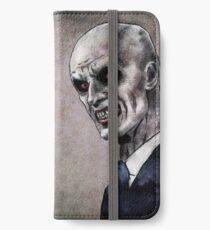 Gentlemen illustration iPhone Wallet/Case/Skin