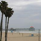 Huntington Beach Pier by KaytLudi