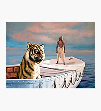 Life Of Pi Painting Photographic Print
