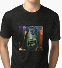 Screaming in the Dark Tri-blend T-Shirt