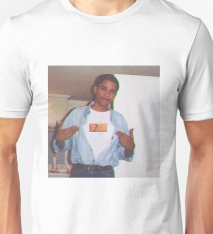 Barack Obama Supreme Brick  Unisex T-Shirt