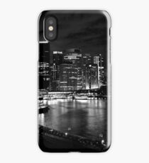 Circular Quay, Sydney At Night iPhone Case/Skin