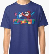 Shy Guys Playing Tetris Classic T-Shirt