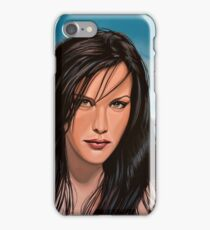 Liv Tyler Painting iPhone Case/Skin