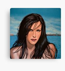 Liv Tyler Painting Canvas Print
