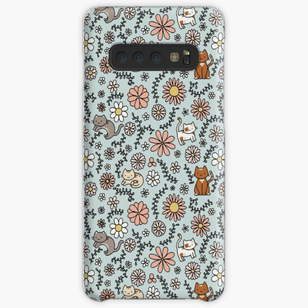 Flower Meower Samsung Galaxy Snap Case