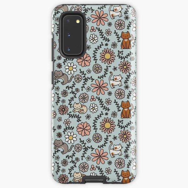 Flower Meower Samsung Galaxy Tough Case
