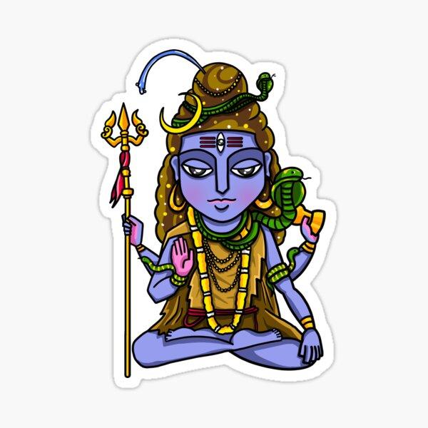 Hindu God Shiv Ji Sticker Photo  IMAGES, GIF, ANIMATED GIF, WALLPAPER, STICKER FOR WHATSAPP & FACEBOOK