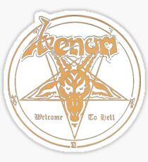 Venom band- Welcome to Hell Sticker