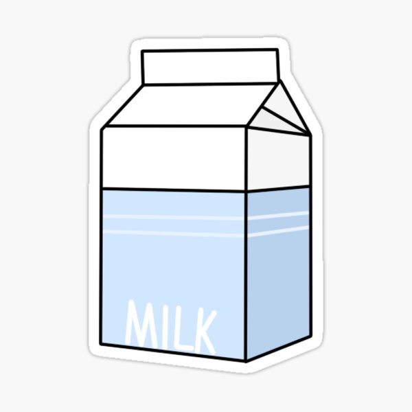 Milk Sticker Sticker