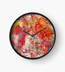 Painted Desert Wood 1 Clock