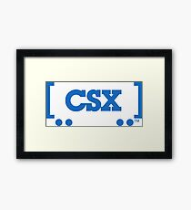 CSX Transportation Framed Print
