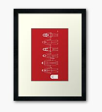 A Family of Scoobies Framed Print
