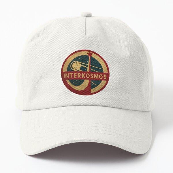 Vintage Interkosmos space program Sputnik Satellite Dad Hat